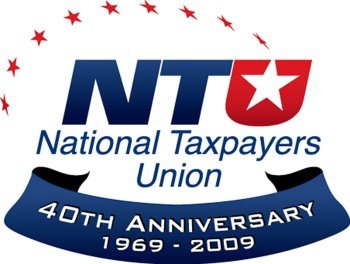 NATIONAL TAXPAYERS UNION ANNIVERSARY LOGO